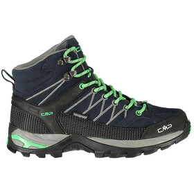 CMP Campagnolo Rigel Mid WP Trekking Shoes Women Asphalt-Ice Mint